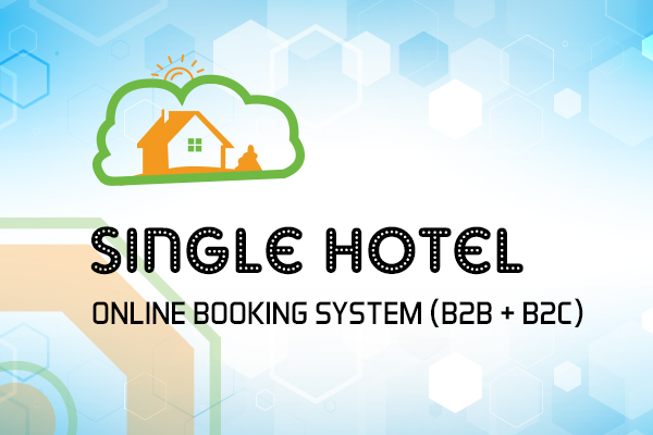Single Hotel Online Booking System (B2B + B2C)