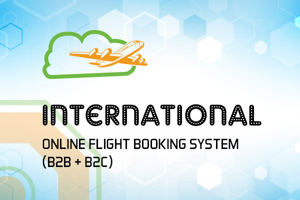 International Online Flight Booking System (B2B + B2C)