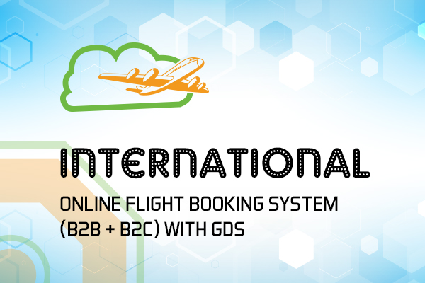 International Online Flight Booking System - (B2B + B2C) with GDS