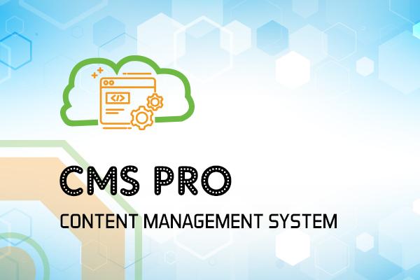 Content Management System (CMS Pro)